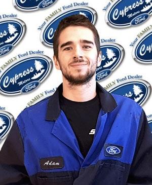 Adam Schellenberge : Service Technician