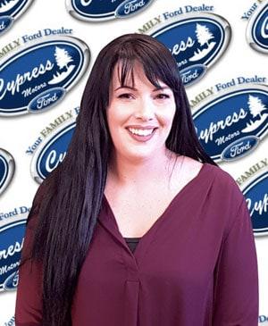 Ashley Sinclair : Service BDC Consultant