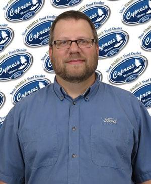 Clint Funk : Parts Consultant