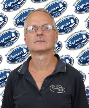 Darrell Schruder : Service Technician