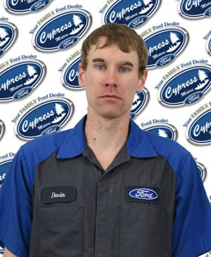 Devon Bullbeck : Service Technician