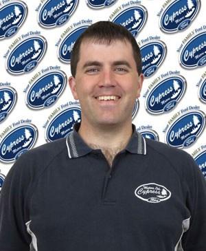 Jason Tangen : Parts Consultant
