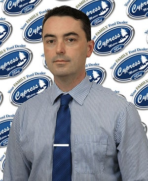 Mike Burns : Finance Manager