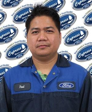 Paul Falloria : Service Technician