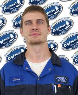 Tanner Roy : Service Technician