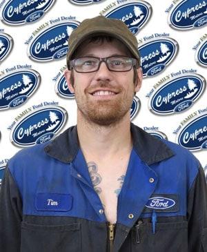 Tim Hogg : Service Technician